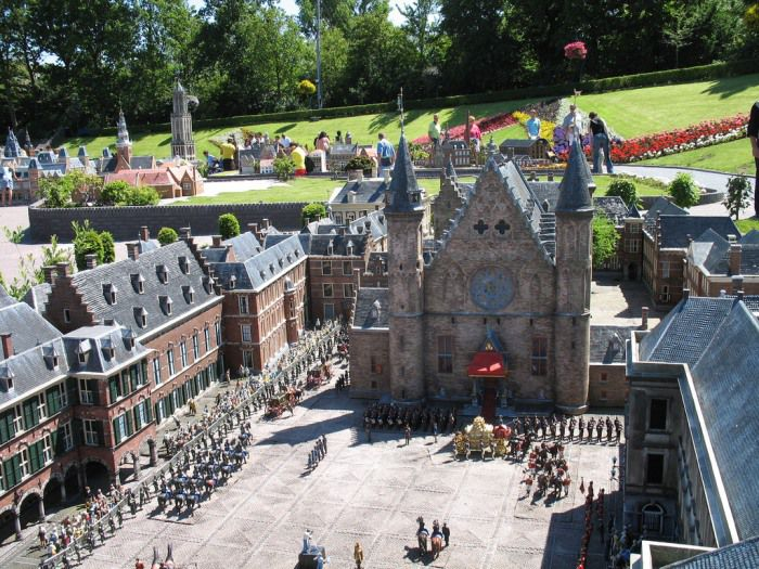 Парк Мадуродам в Голландии фото 2